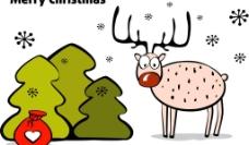 卡通圣诞背景 圣诞节图片