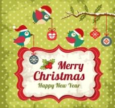 卡通圣诞背景图片