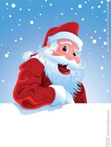 卡通圣诞老人图片