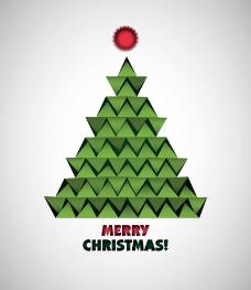 折纸圣诞树图片