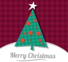 抽象圣诞树背景图片