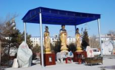 大乐林寺佛像雕塑图片