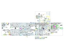 CAD平面图库景观图图片