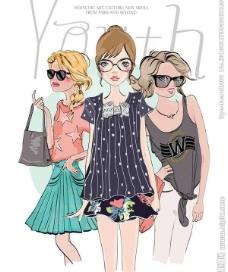 时尚女孩漂亮女人图片