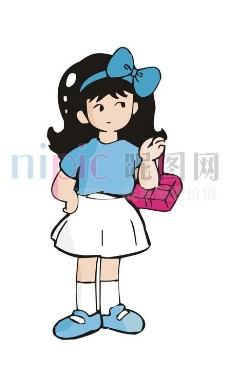 卡通人物厨师图片,背景设计 背景素材 背景图案 抽象