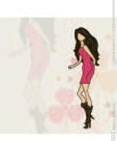 时尚漂亮女孩女人图片