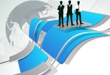 商务人物科技背景图片