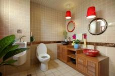 卫生间装修素材