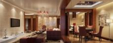 传统客厅设计