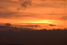 夕阳视频素材模板下载