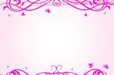 粉色 粉色花纹图片