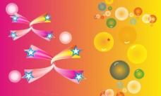五角星气泡图片