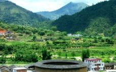 梅州山水花萼楼图片