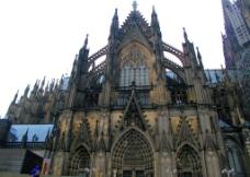 德国科隆双顶大教堂图片