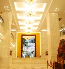 酒店素材 形象背景墙