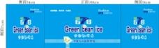 广告贴 绿豆沙冰图片