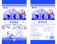 东北香米包装图片