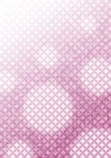 方块组合紫色底纹花纹素材