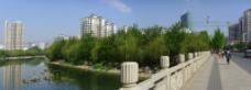 潍坊市虞河景观图片