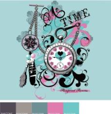 钟表创意素材图片