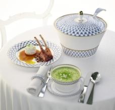 餐具 食物模型图片