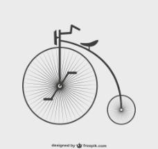 老式单车图片