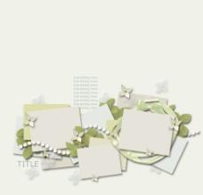 韩式环纹框图片