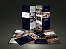 企业画册黑白格风格册子