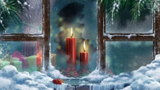 圣诞雪境高清图