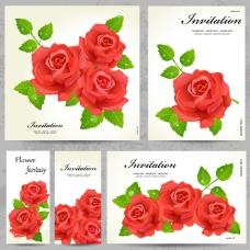 浪漫玫瑰卡片