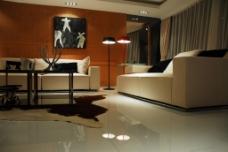 简约客厅背景设计