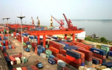 江西九江港码头图片