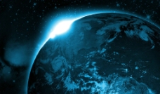 星球光芒图片