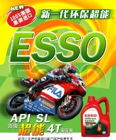 润滑油宣传海报图片