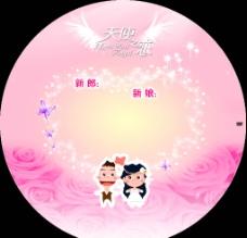 婚慶CD模板圖片