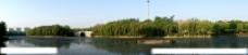 潍坊市虞河景观全景图图片