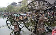 黄龙溪 水车图片