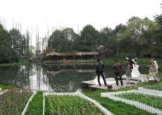 杭州太子湾风景图片