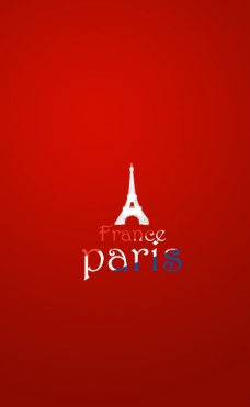 法国巴黎宣传册图片