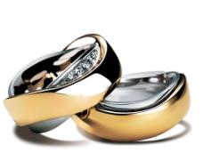 精美结婚戒指矢量素材