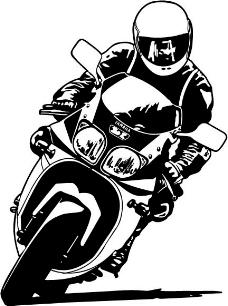 摩托手矢量矢量素材