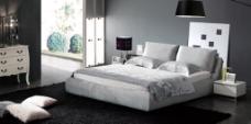 布艺软床 软床背景