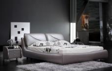 软床背景图片