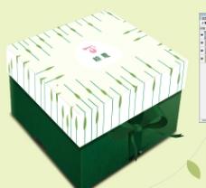 粽子盒展开图图片