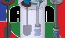 高压发泡机立式罐