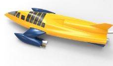 项目的玛瑙-三体船