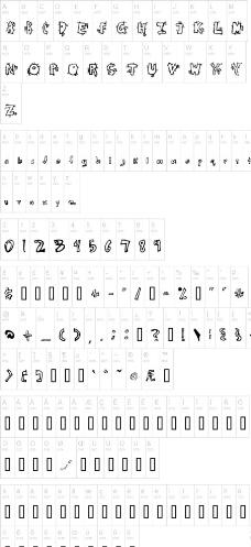 手写英文字体_树木树叶
