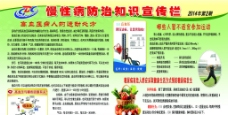 慢性病防治知识宣传展图片