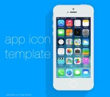 iphone界面图片