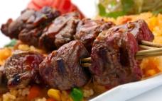 烤肉串 肉串 烤肉图片